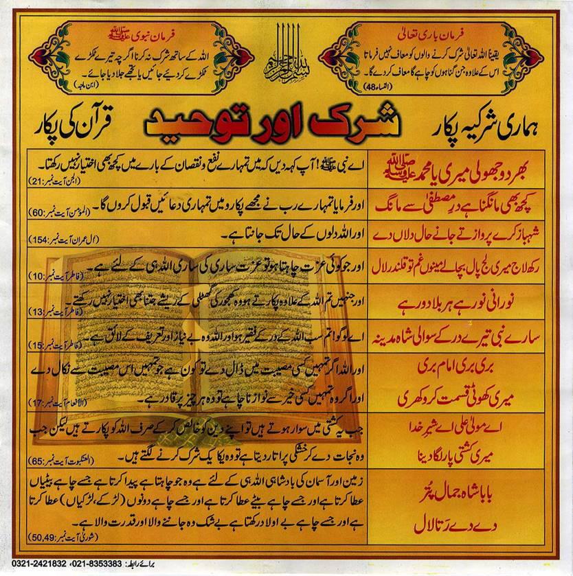 tauheed-shirk